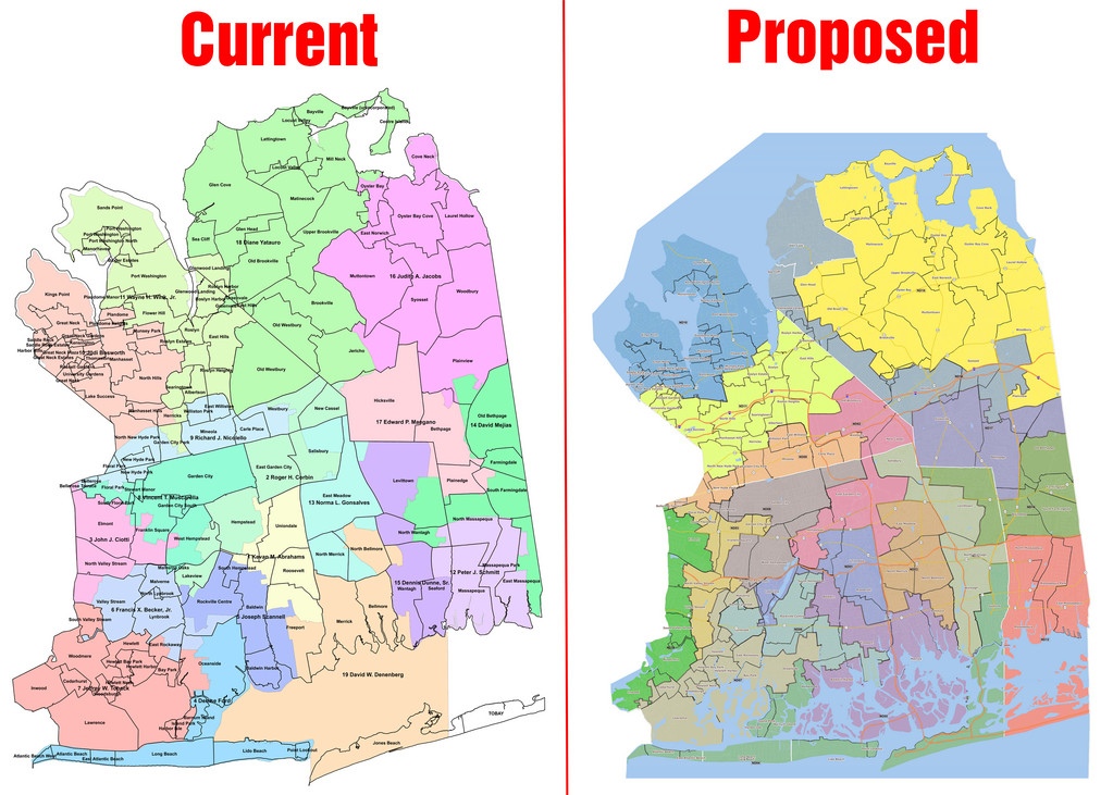 A county redistricting plan has created controversy between Democrats and Republicans in the Legislature.