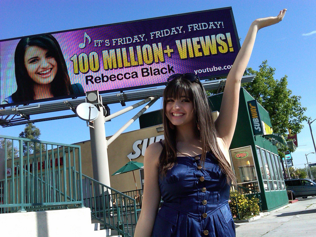 "Rebecca Black became an overnight sensation after her YouTube video ""Friday"" went viral. Other teens are now seeking to replicate her achievements."
