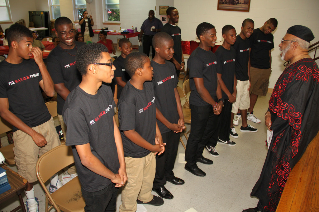Thirteen young men graduated from the W.A.N.T.E.D. program at the Valley Stream Presbyterian Church on June 30.