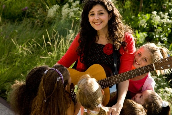 "Join Meredith LeVande when the New York City-based singer-songwriter visits Merrick and Lynbrook libraries to entertain young fans with ""Monkey Monkey Music."""
