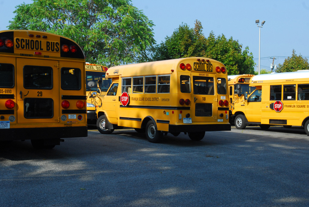 New York school districts are beginning to take advantage of a law that passed over the summer to cut bus costs.