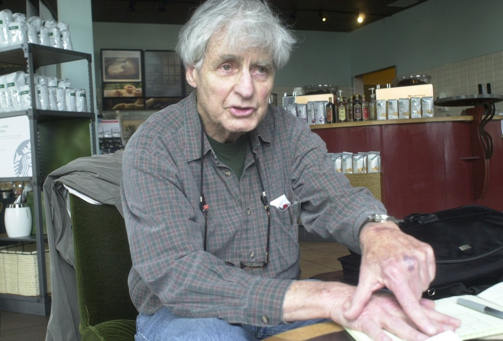 Morris Kramer, pictured above at the Starbucks in Long Beach, a civic and environmental activist from Atlantic Beach, scored a historic Supreme Court victory in June 1969 that overturned restrictive voting practices across the U.S.