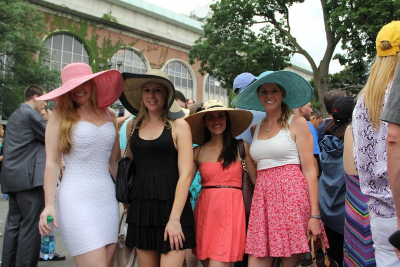 Catherine Morrissey, Kelsey Kopro, Erin Byrne, and Allison Darnell at the Stakes.