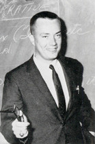 Richard Herrmann as he appeared in the 1964 Central High yearbook.