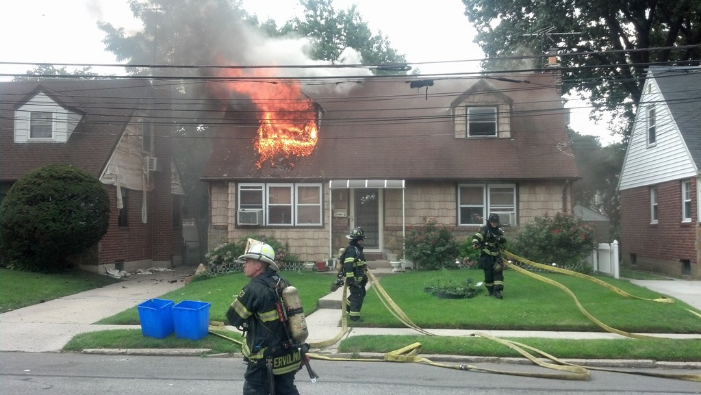 A house that caught fire on Cedar Street in July had an illegal apartment, according to Valley Stream officials.