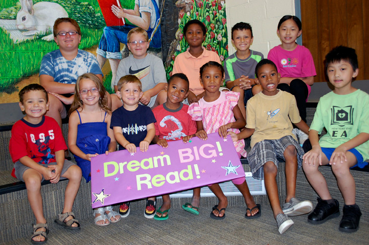 "This year's summer reading club theme was ""Dream Big, Read!"" More than 400 Valley Stream children completed the reading requirements."