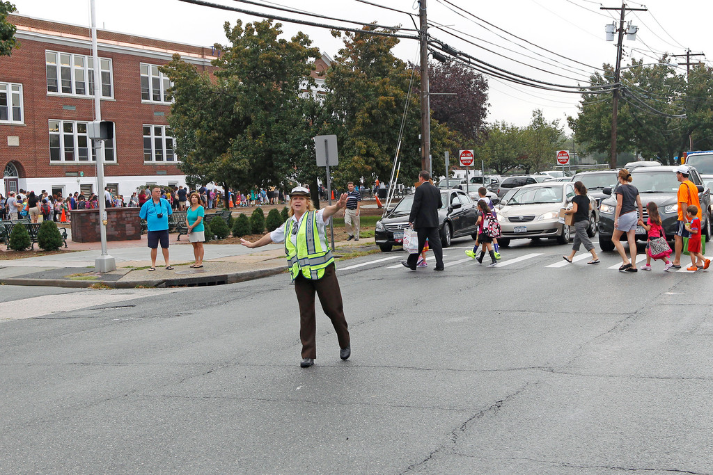 A lack of crossing guards has forced Nassau County police officers to pull double-duty during drop-off and dismissal. The Baldwin-based 1st Precinct has seen the worst of the shortage, according to the county's police union.