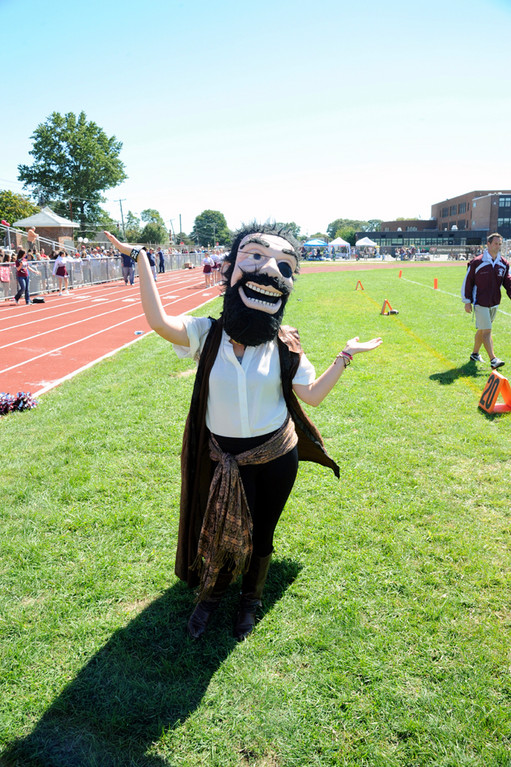 The Pirate has been Mepham�s mascot since the school opened in 1937.