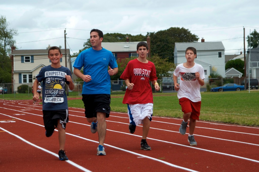 Herald reporter David Weingrad ran with the Grand Avenue Middle School cross-country team recently to explore the question of how to keep young people interested in athletics throughout their lives.