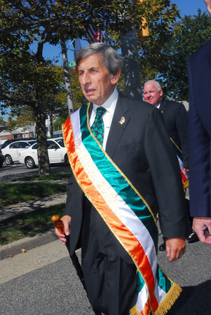 Friends said that Elovich was proud to be named Grand Marshal of the Irish Day parade in 2010.