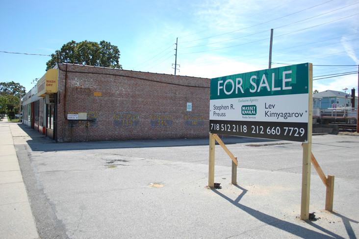 The vacant buildings on Gibson Boulevard are up for sale. The owner is asking $3 million for the property.