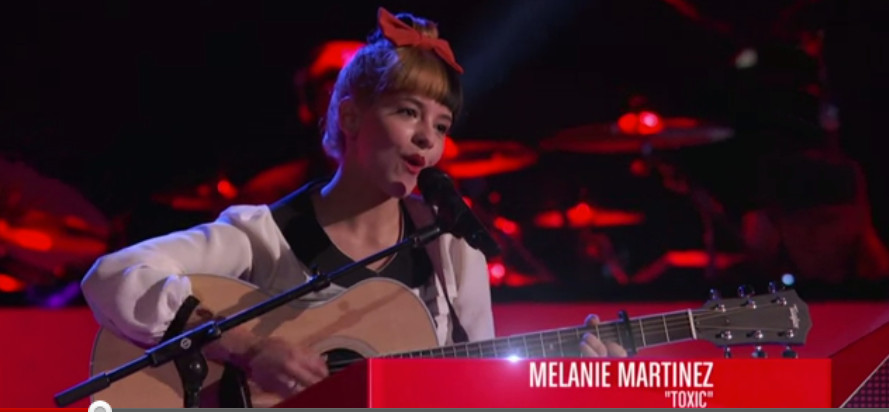 "Fearing that her musical tastes might not suit ""The Voice,"" Martinez played a folksy version of a Britney Spears song in her blind audition."