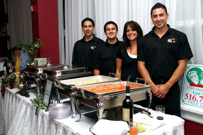 The Borrelli's Crew was serving up hot dishes at the Culinary Delights.