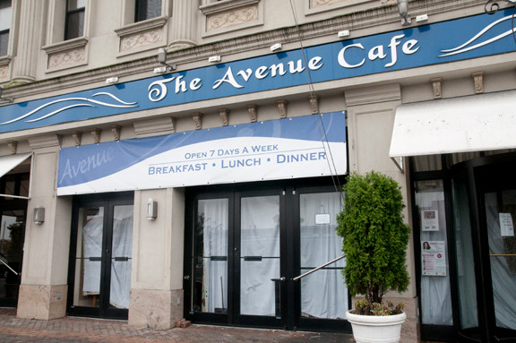 The Avenue Café abruptly shut its doors last month.