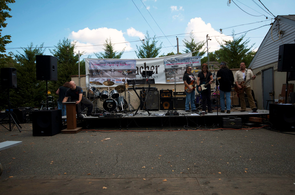 "The Mud Cats took the stage during the ""Rocking the Road for a Cure"" fundraiser."