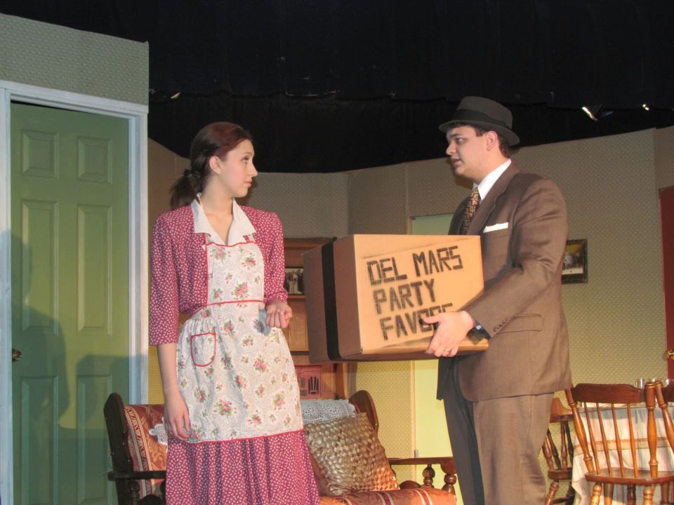 Sarah Lamsifer in one of her recent high school plays.