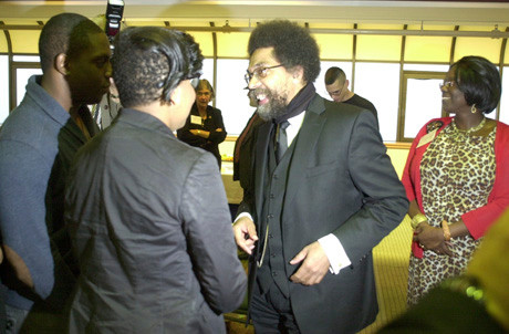 Bestselling author and Ivy League scholar Dr. Cornel West was one in a long line of speakers from both sides of the political aisle who have appeared at Hofstra University leading up to the second presidential debate, to be held on the Hempstead campus on Oct. 16.