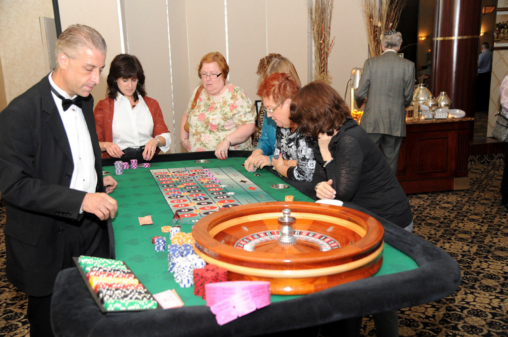 Roulette tables were only one part of the available games at the temple.