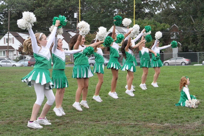 performed at halftime during the Green Hornets Homecoming celebration at Firemen's Field on Oct. 7.