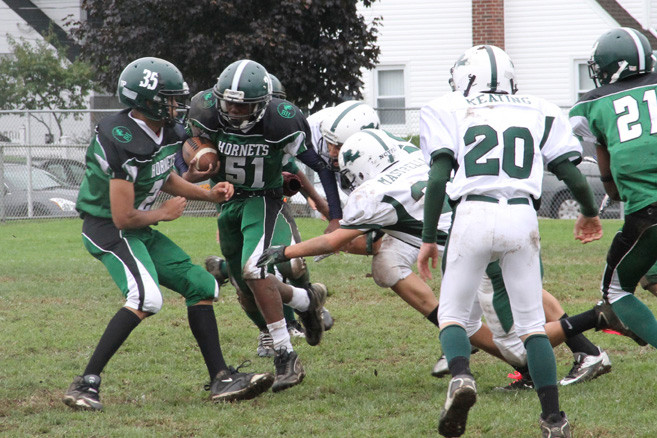 The Seniors Game capped off Homecoming for the Green Hornets as four of the league's six teams were victorious against their opponents.
