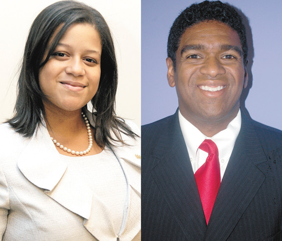 Michaelle Solages and Sean Wright are the two candidates for the new 22nd Assembly District.