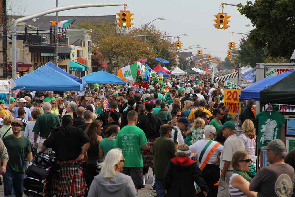 City officials described the 23rd annual Irish Day as a more controlled event than in past years.