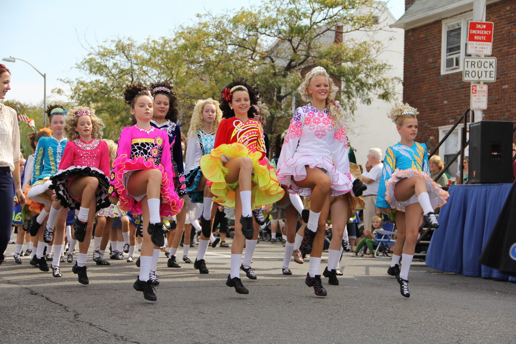 The Hagen School of Irish Dance was among the many groups and organizations that marched in the 23rd annual Irish Day parade last Saturday.