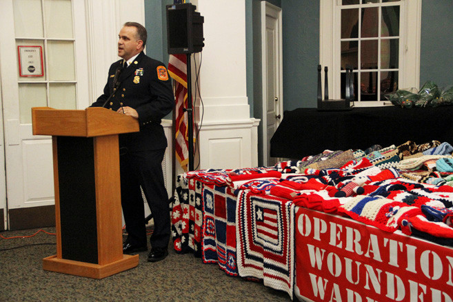Ex-Chief Joseph O'Grady spoke about Operation Wounded Warriors.