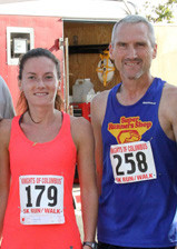 The first place winners were Monika Robak, of Lynbrook, in the women�s division, and Gerry O�Hara, of East Rockaway, the overall winner.