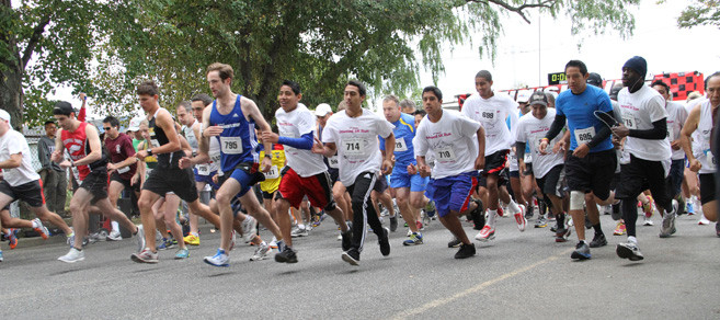 Two hundred and thirty-five runners completed the 19th annual Inwood 5K run on Oct. 6.