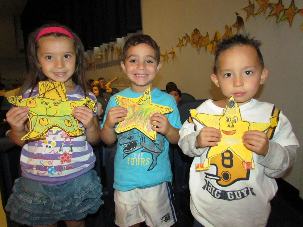 Students at Bellmore's Charles A. Reinhard Early Childhood Center celebrated their character education program kickoff at the annual Rising Star Pep Rally.