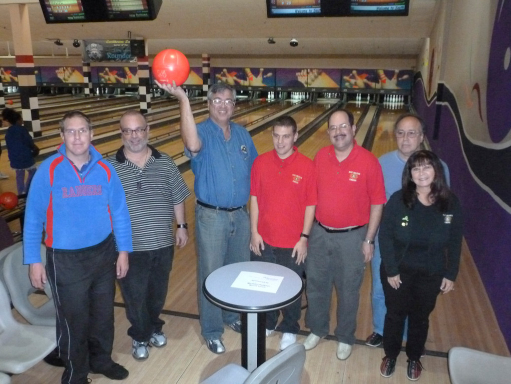 East Meadow Kiwanians went bowling for a good cause with Key Club, Builders Club and K-Kid members.