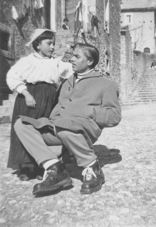 Miss Mila Fabrizio and Arseno Baccari, Italy