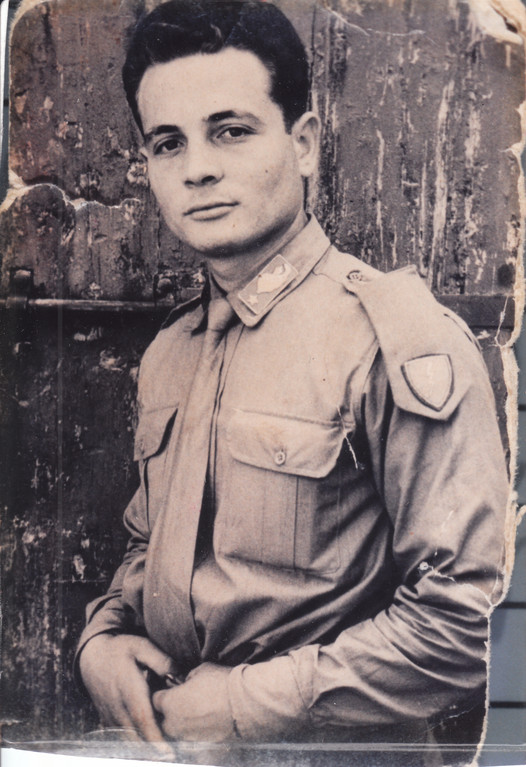 World War II Soldier Domenic Alati Army Paratrooper, Italy