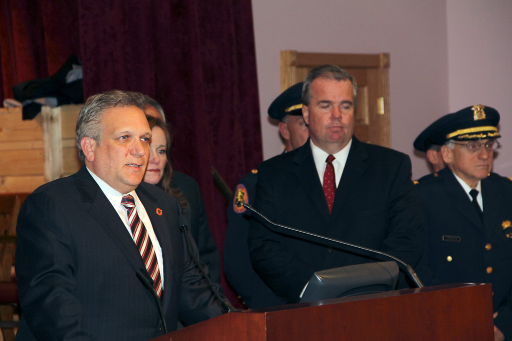 Nassau County Edward Mangano called for the arrest of Lopez's murderer.