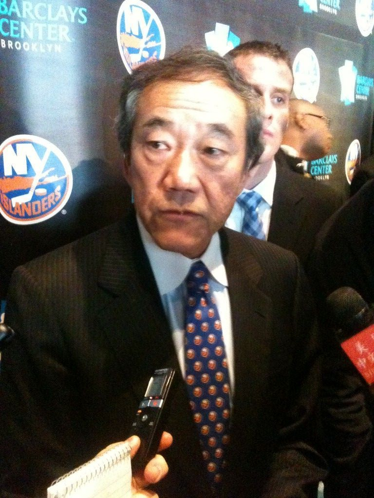 New York Islanders Charles Wang Owner answers questions about the team's move to Brooklyn in 2015.
