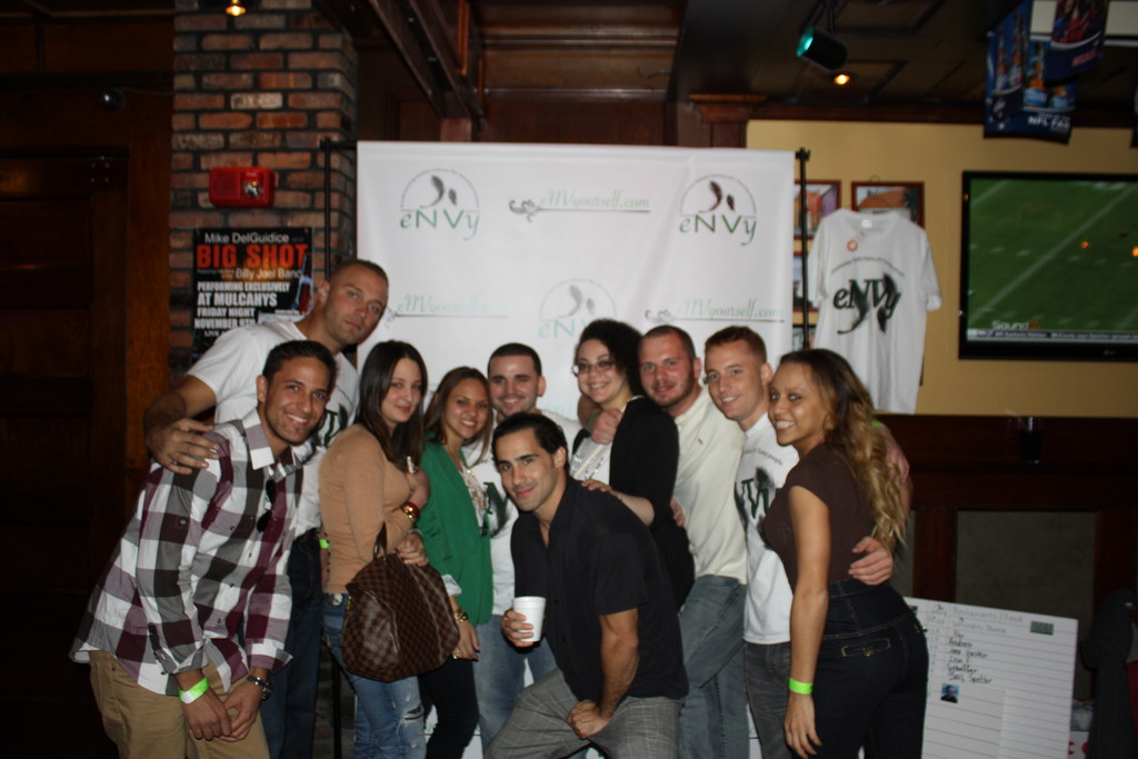Nearly 300 people went to Mulcahy's Pub & Concert Hall in Wantagh on Oct. 20 to support eNVy's first fundraiser.