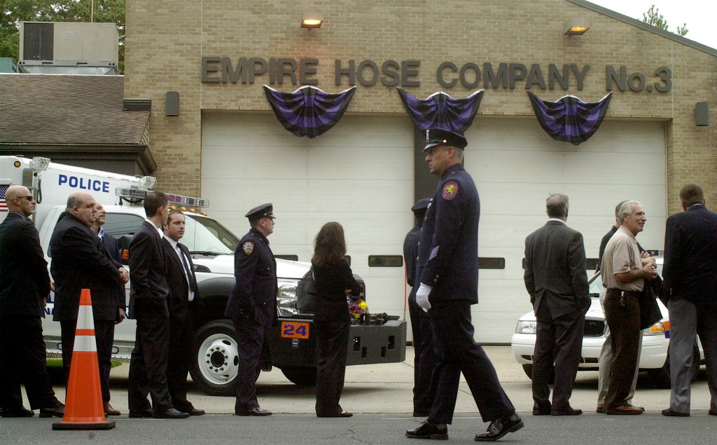 Two wakes were held over two days in honor of slain Nassau County police officer Arthur Lopez.