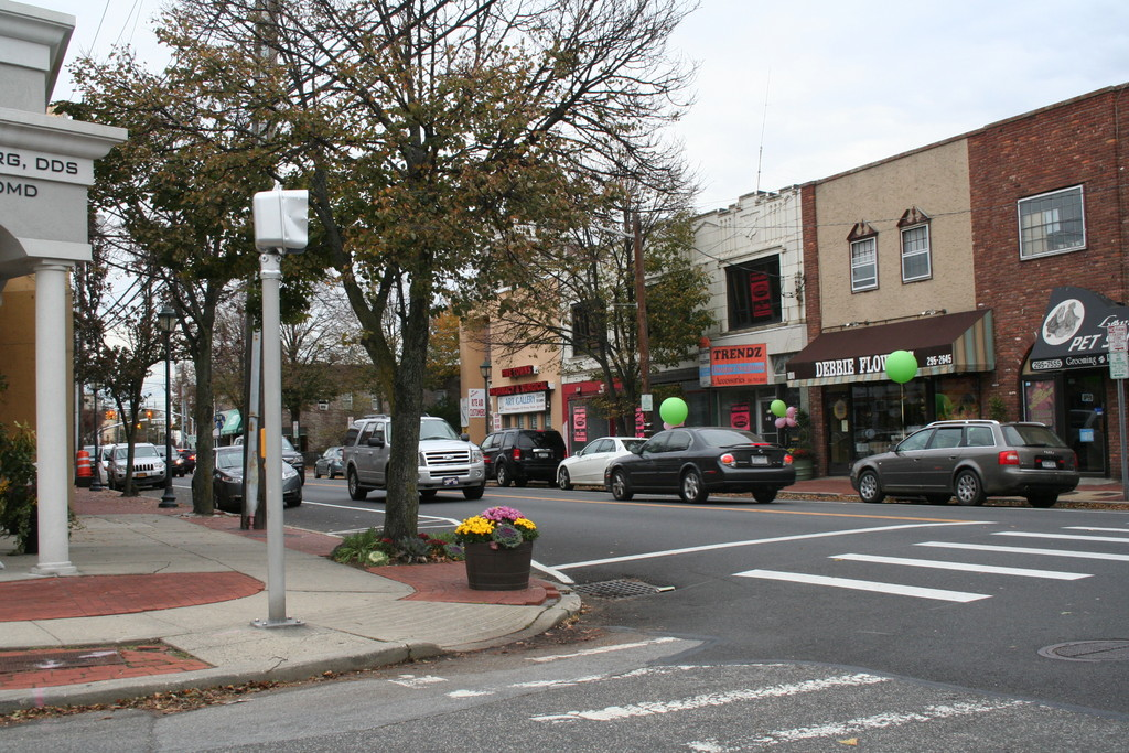 Downtown Woodmere was business like usual on Friday afternoon.