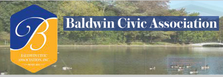 The Baldwin Civic Association sent this  message to its members in the wake of the storm: