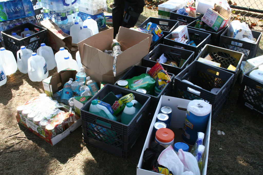 Toiletries, flashlights, batteries, children's clothing, toys, diapers, cleaning supplies, paper goods, utensils and kosher food are still in high demand in the Five Towns.