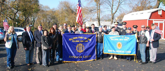 As always, Baldwin American Legion 246 honored local vets and their families with dignity.