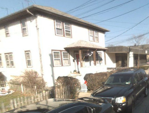 Fire damaged this house at 362 Persall Ave. in Cedarhurst. A mother and child escaped unharmed.