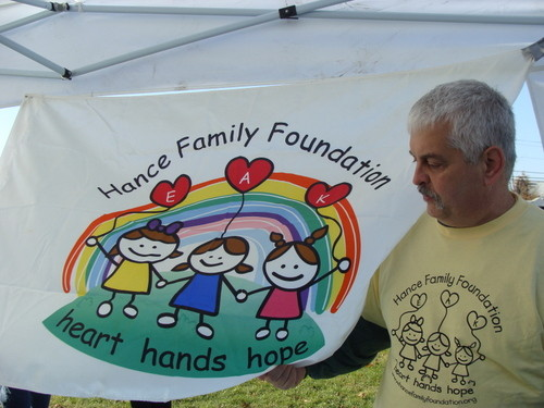 The Hance Family Foundation sponsored the barbecue.
