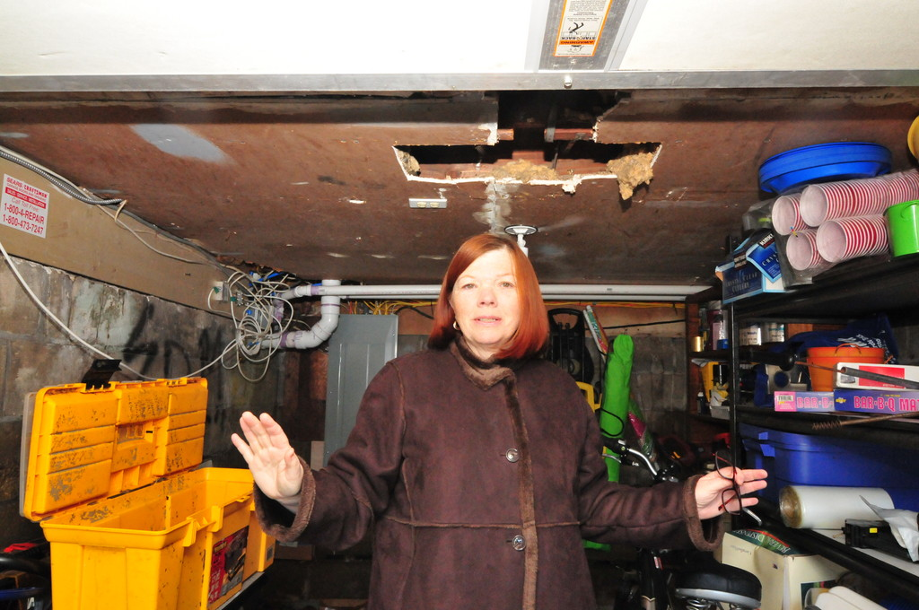 Mary Ann Ungerson, a Canals resident, said that she is waiting for a new boiler to be installed.