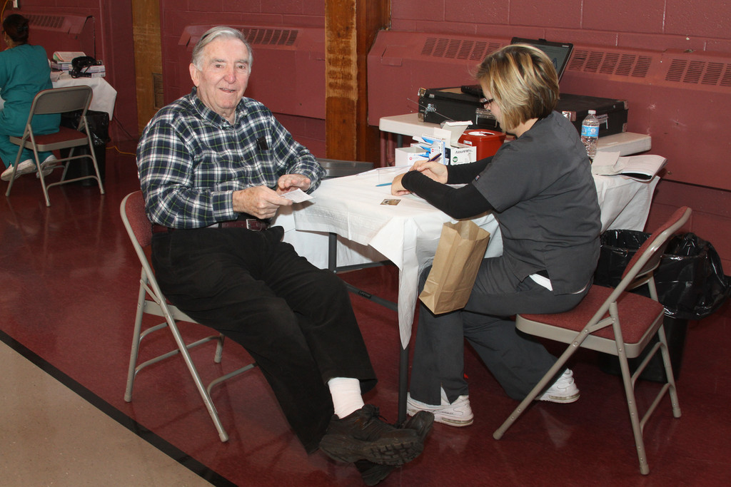 Being an octogenarian isn't an obstacle for multiple-time blood donor Jerry Killane, (above) who is 81.