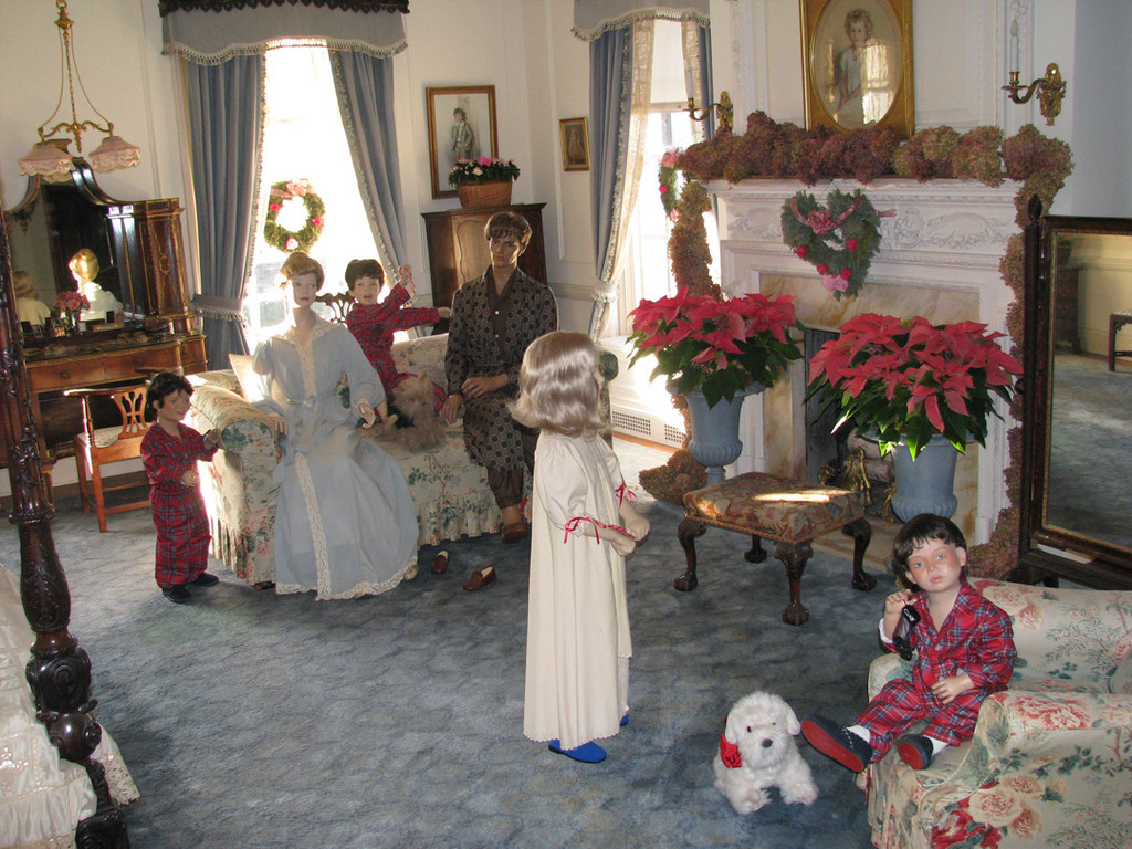 Joys of the season: Old Westbury Gardens' Westbury House opens its doors this weekend for its eagerly-anticipated annual holiday festivities, a Long Island tradition.  Events continue weekly throughout December.