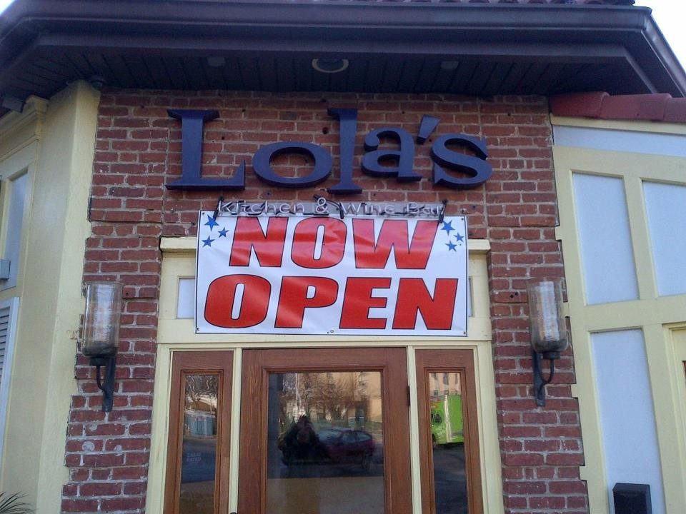 Lola's was among the many restaurants that were able to reopen after the storm, while many others are struggling after sustaining extensive damage.