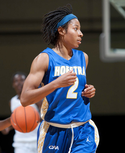 Candace Bond has twice led the Colonial Athletic Association in steals.