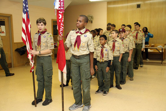 Troop 109 held a Court of Honor ceremony on Nov. 20 to recognize the accomplishments of the Boy Scouts.